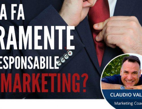 Cosa fa veramente il responsabile Marketing?